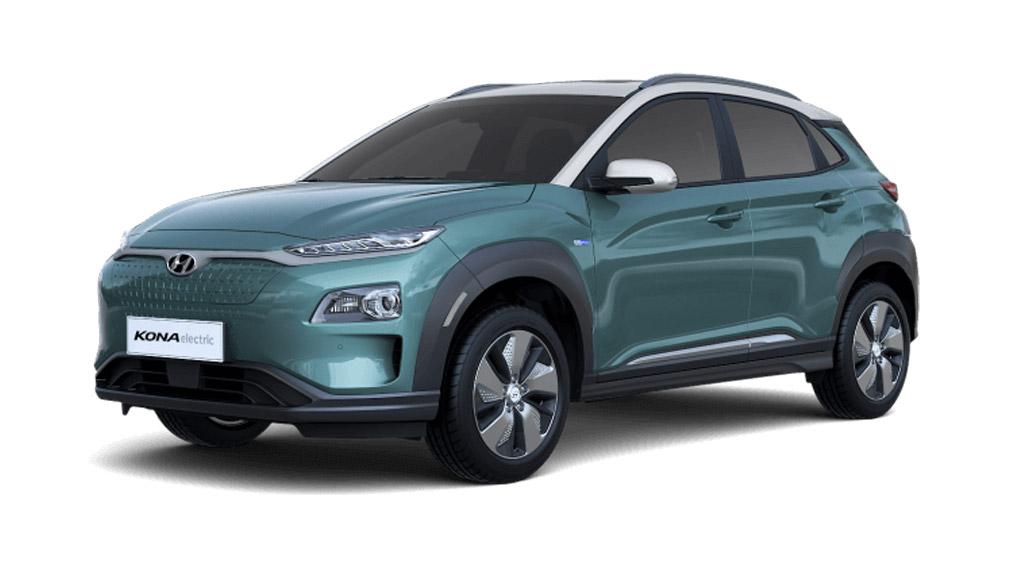 Hyundai Kona - Ceramic Blue. Hyundai Kona review