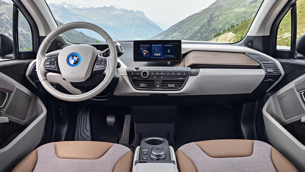 A BMW i3 Dashboard