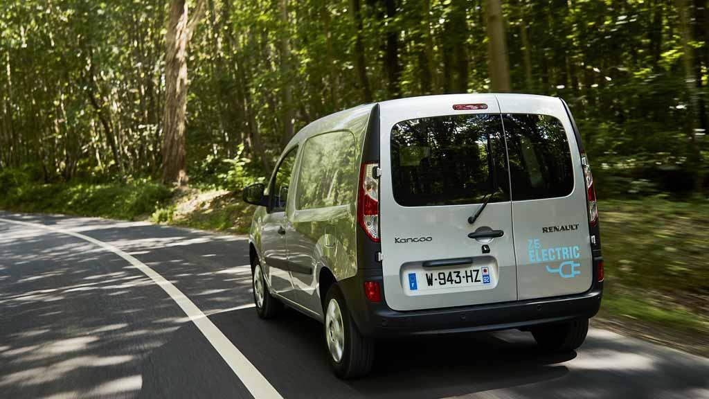 Renault Kangoo an Electric Van