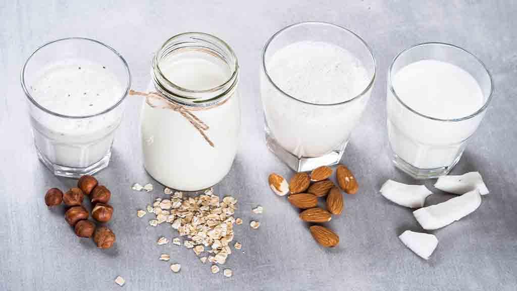 Dairy-free milk alternatives