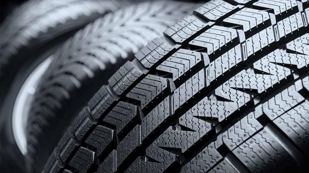 Close up photo of car tyres