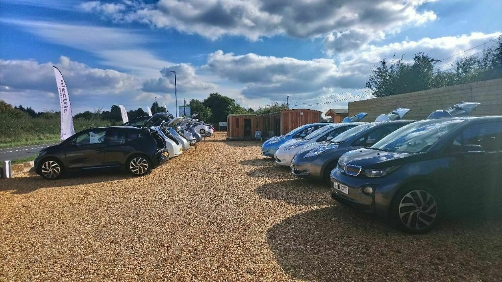 Drive Green Forecourt Eco Build