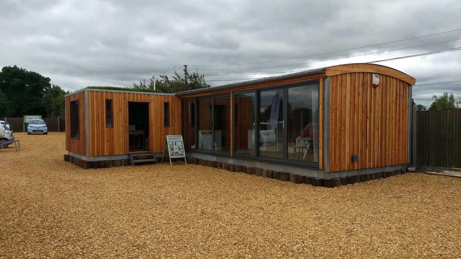 Drive Green Eco Build Cabin