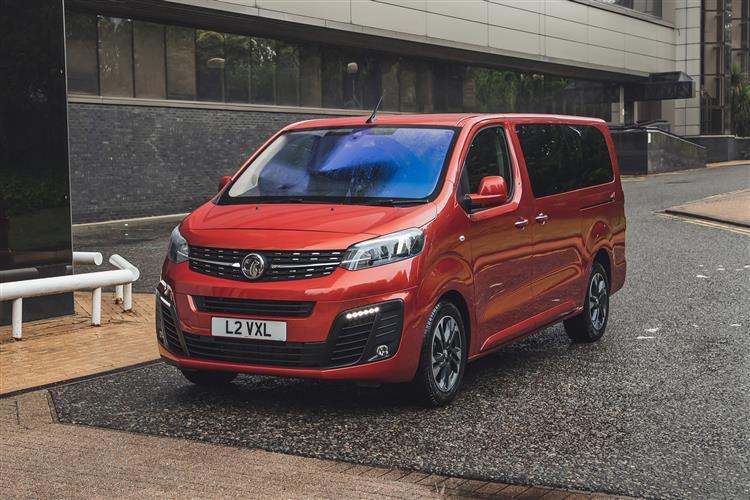 Vauxhall Vivaro Vivaro-e Life L Elec 50kWh 100KW FWD 136PS Elite MPV Auto [7Seat 11kW Charger]