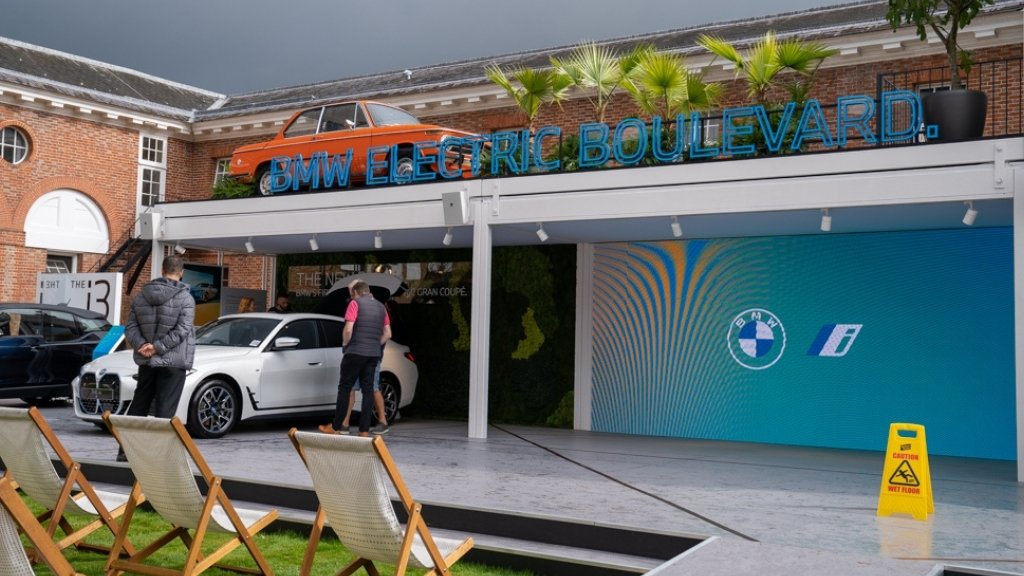 BMW Electric boulevard - Goodwood Festival of Speed