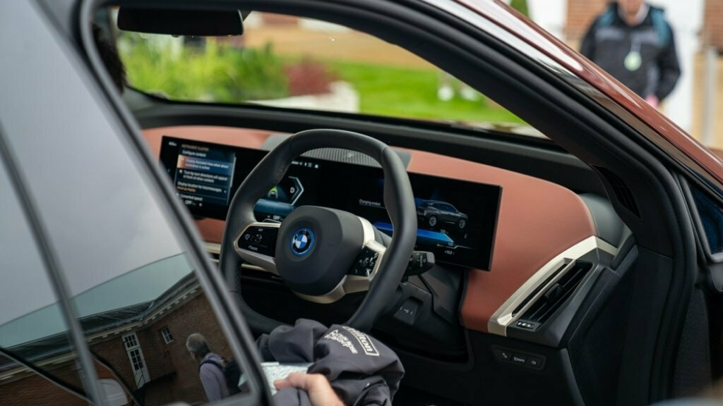Drive Green At Goodwood Festival of Speed 2021 - BMW Interior