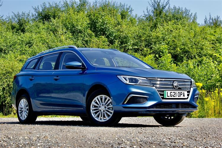 MG Motor UK MG5 Estate Elec 61.1kWh 115KW 156PS Exclusive EV 5Dr Auto