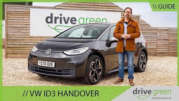 VW iD3 Handover